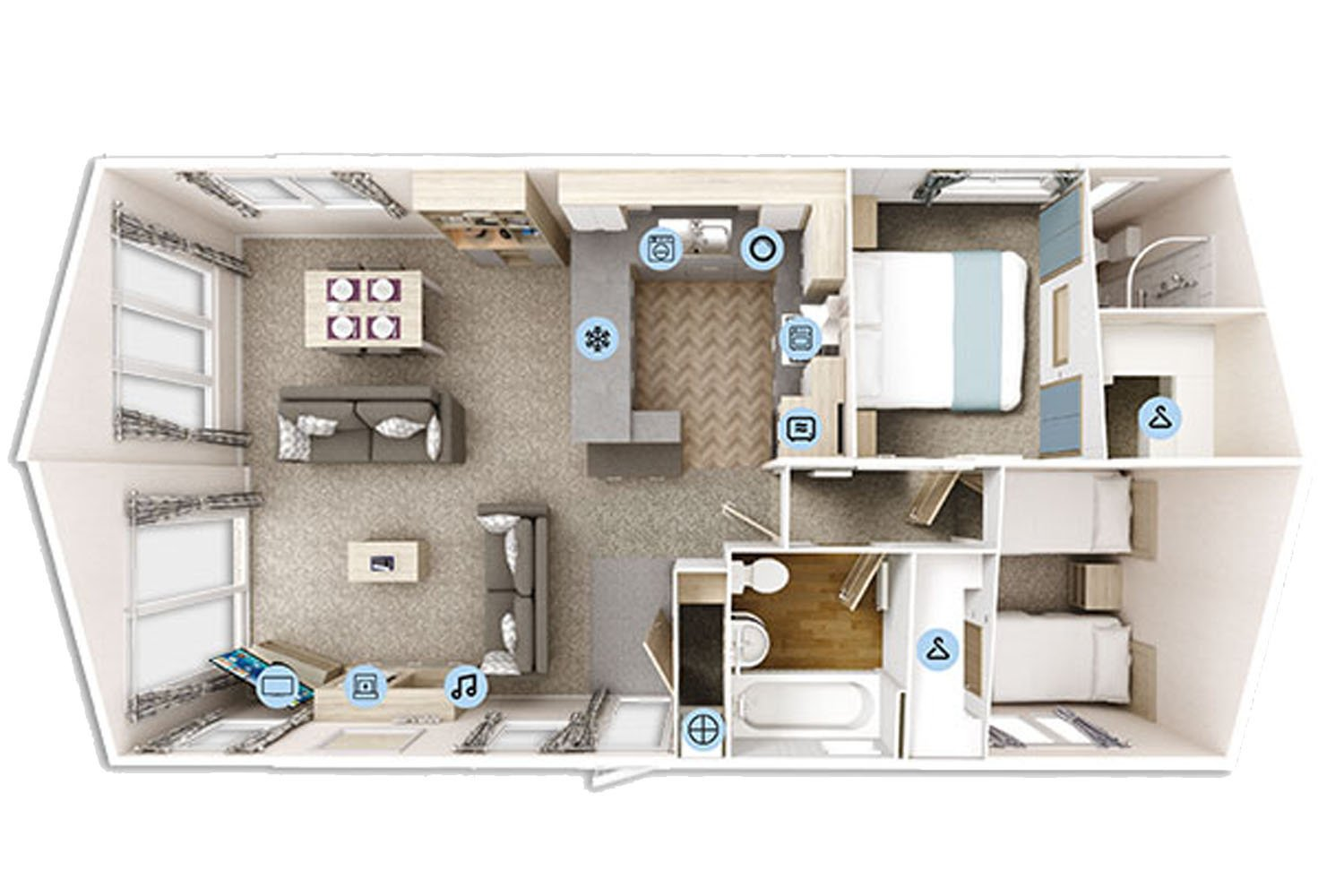 Clearwater Floor plan