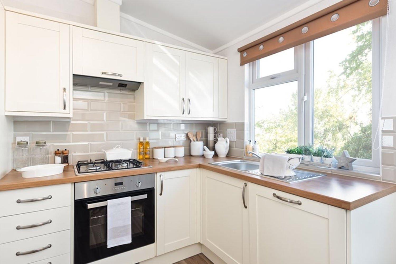 Kitchen Sonata Residential Park Home Lake District